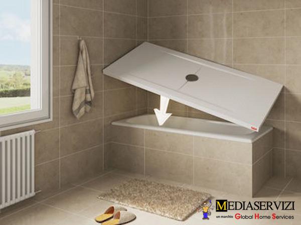 Trasformazione vasca in doccia 1