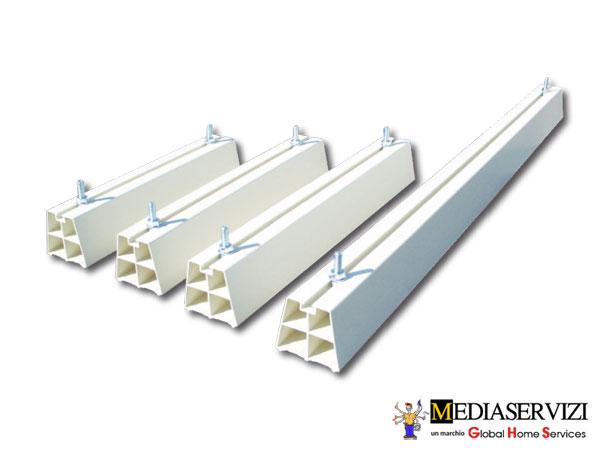 Canalina e tubazioni per installazione climatizzatore 2
