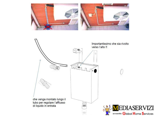 Dissipatore di condensa climatizzatore 1