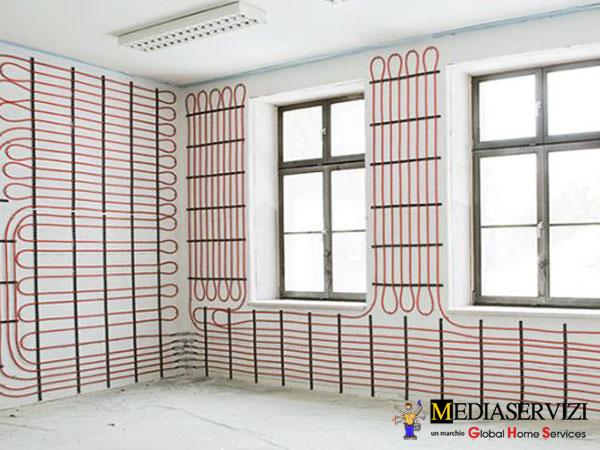 Impianto climatizzazione radiante 2