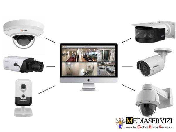 Impianto di videosorveglianza- telecamere 2