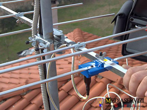 Montaggio antenna parabola 2