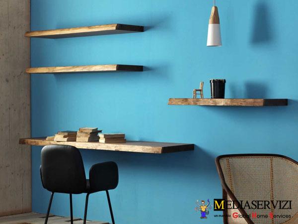 Mensola a parete in legno 3