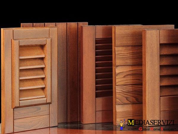 Riparazione e restauro persiane in legno 1