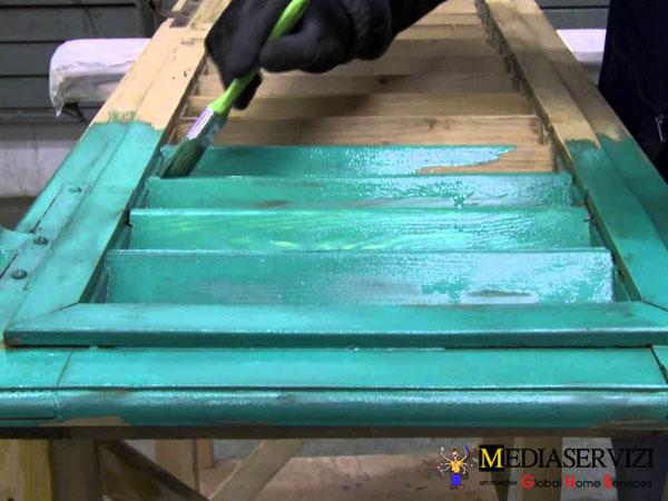 Riparazione e restauro persiane in legno 3