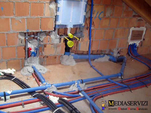 Impianto idraulico cucina 1