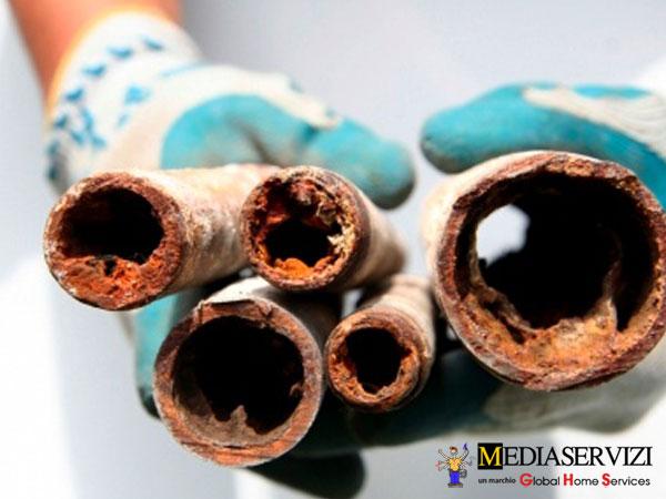Lavaggio tubazioni idrauliche - riscaldamento - caldaia 3