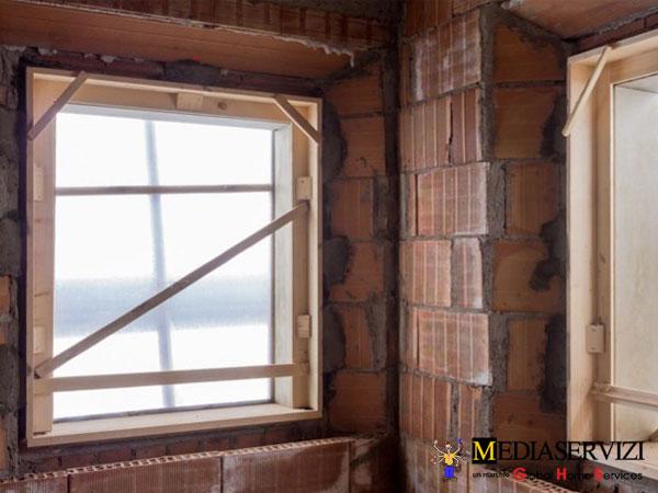 Montaggio finestra 1