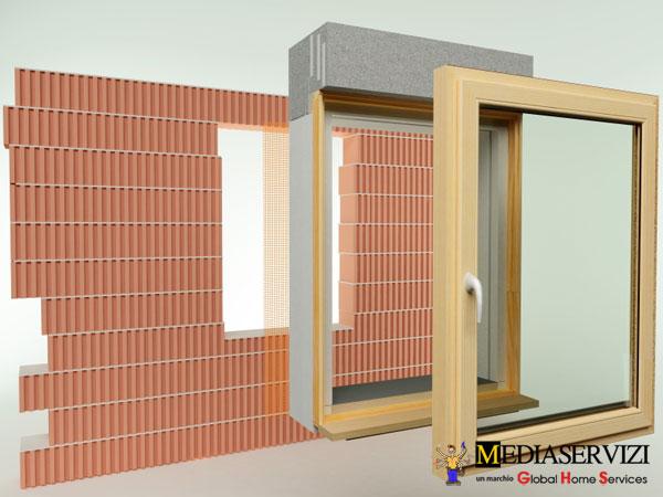 Montaggio finestra 2