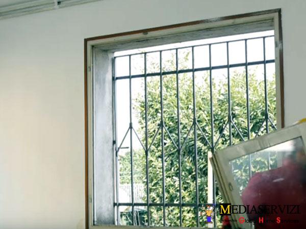 Rimozione porte e finestre da interno
