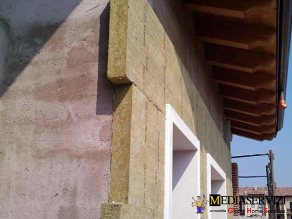 Coibentazione a cappotto - facciata esterna ed interna 2