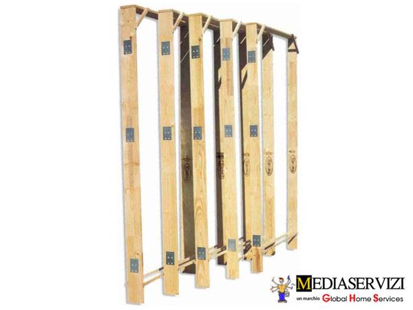 Montaggio controtelaio in legno per porte e finestre 1