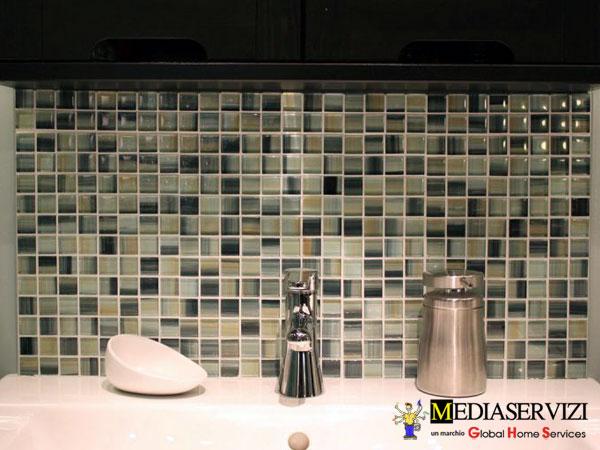 Posa mosaico per rivestimento o pavimento 1