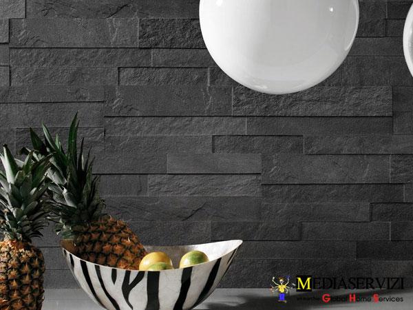 Posa di rivestimento in ceramica gres marmo 1
