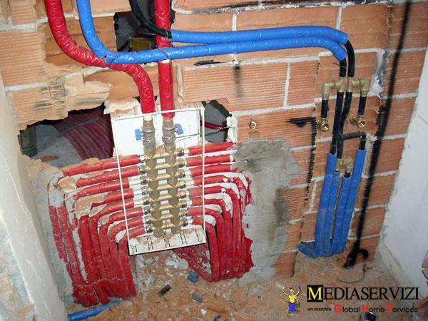 Impianto di riscaldamento a termosifoni 2