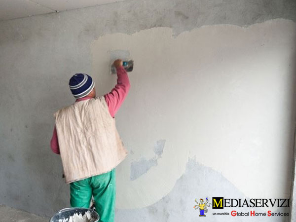 Rasatura pareti e soffitti 1