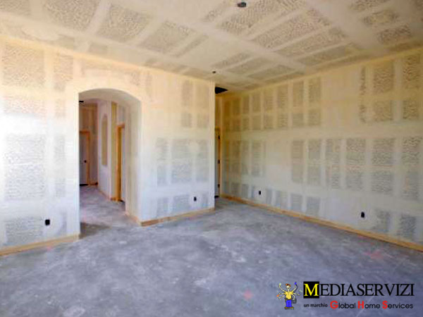 Rasatura pareti e soffitti 3