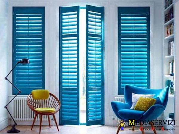 Verniciatura finestre e persiane 2