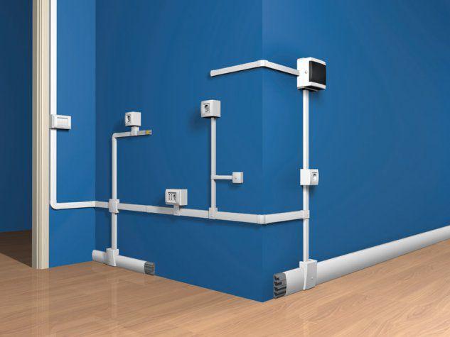 Nuovo impianto elettrico - Impianti elettrici a vista per interni ...
