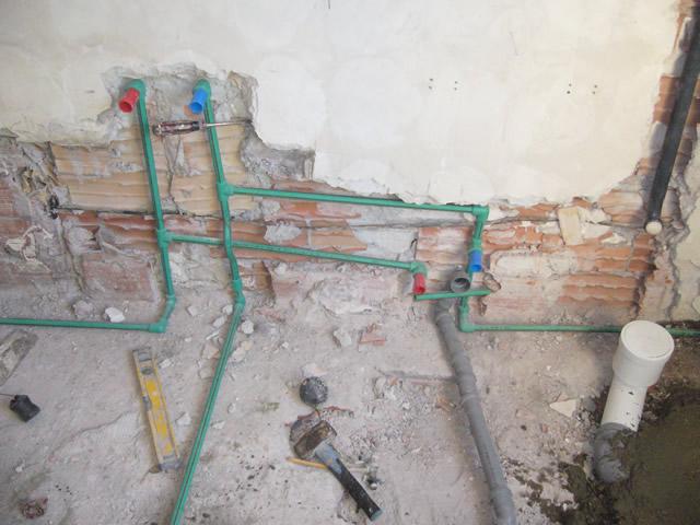 Sopralluogo tecnico idraulico - Impianto bagno schema ...